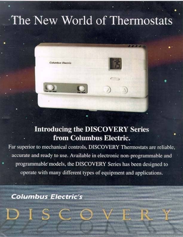 Development of a range of thermostats for Columbus Electric