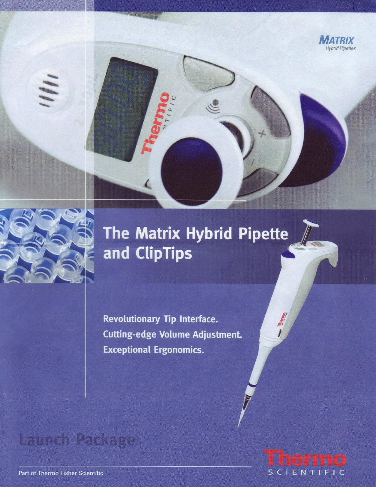 Development of Matrix pipetting system for Themo Fisher