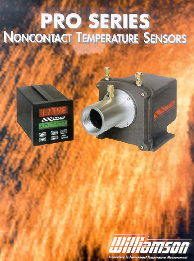 Complete development of remote IR industrial temperature sensor unit for Williamson